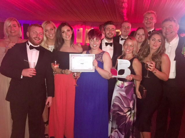 Auger scoops customer service award